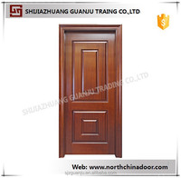China manufacturer composite wood single entrance exterior door skin