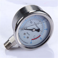 Specially designed Hot Sale High Quality clear to read new cng car fuel system oil pressure gauge