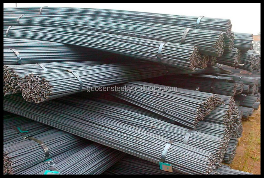 steel rebar price per ton construction/ 12 mm iron rod price/ deformed steel rebar price
