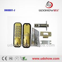 Single latch safe lock mechanism and digital code DH-8801