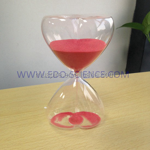 acrylic resin crystal hourglass sand timers buy glass. Black Bedroom Furniture Sets. Home Design Ideas