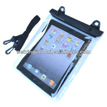 Clear PVC Waterproof Case Water Resistant Dry Bag for iPad 1/2/3