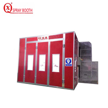 luxury electric heating car spray booth with basement