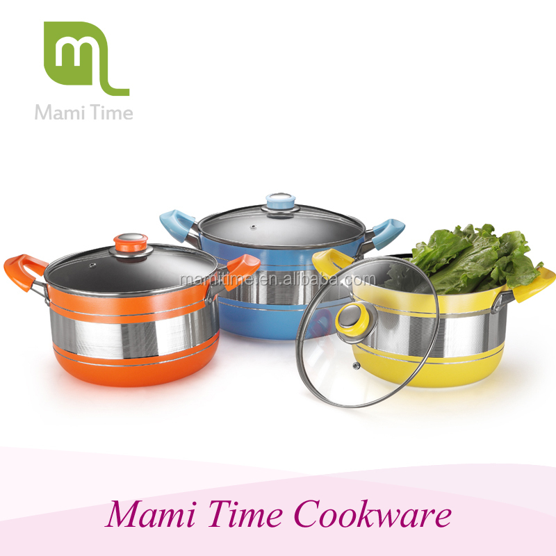 2015 hot sale mami time carl weill cookware set with high quality