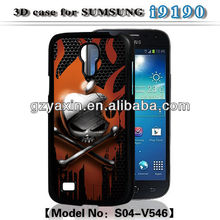 For samsung galaxy s4 mini rugged case,3D case