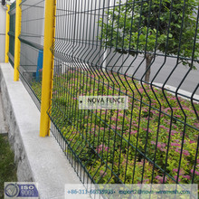 ISO9001 China supplier of PVC or galvanized construction fence