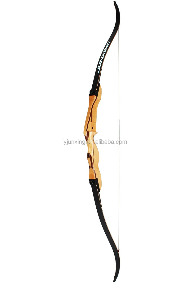 F168C wood shooting target recurve bow