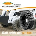 ZLY908 agricultural farm tractor front loader with solid frame and tires