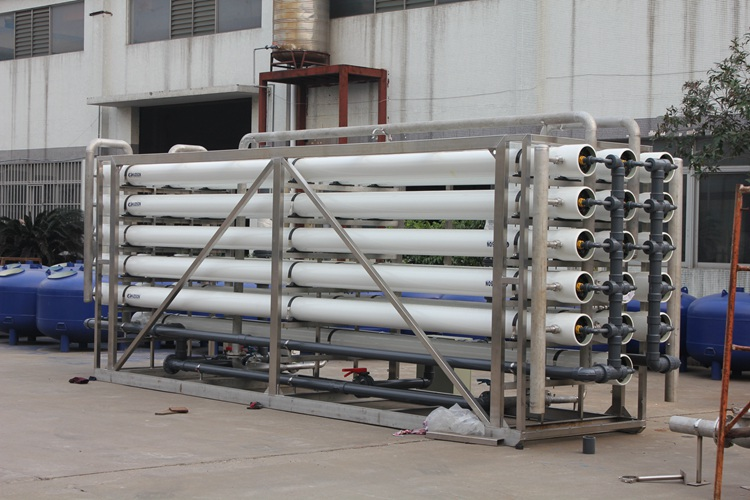 Commercial Reverse Osmosis Electrolytic Water Purification Treatment System Project Implementation
