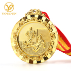 Custom gold football sports metal sports medal