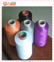 polyester staple fiber and low welt polyester yarn dope dyed color