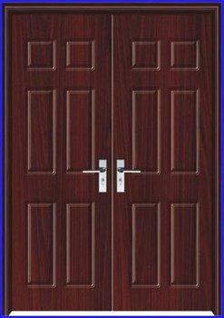 Fashion Exterior Double Door Design Pj Li087 Buy Double