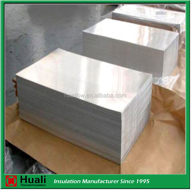 Metal building insulation material aluminum wall cladding sheet