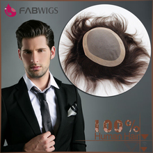 Aliexpress best mono base cheap toupee for men 120% density human hair toupee indian men hair toupee wig