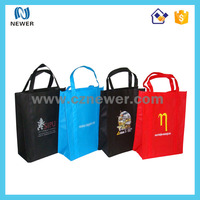 Various color custom cheap wedding paper shopping bags