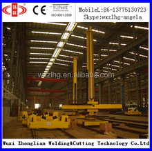 wind tower tube production line with heavy duty welding manipulator and rotator