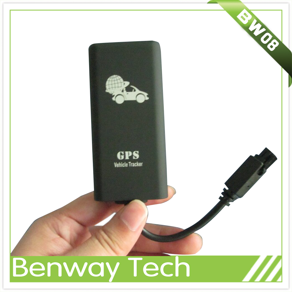 Hot selling GPS Tracker BW08 better than tk06 with Large Capacity Battery Over Speed Alarm Built-in Vibration sensor