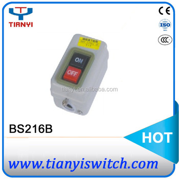 BS216B BS Series electrical switch control box remote control switch