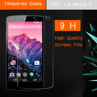 Explosion Proof Premium Tempered Glass Film Screen Protector Factory price For LG Nexus 5 Anti Shatter