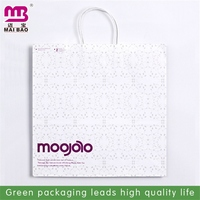 non toxic and biodegradable material craft twisted handle paper bag