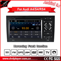 hla 8745 auto gps dvd player with aui bluetooth atv sd acc car navigation for audi a4/s4/rs4