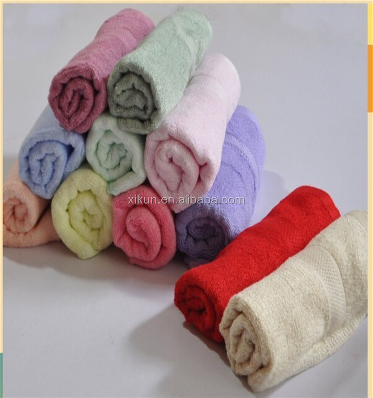 100% cotton plain solid color recycle machinery wiping towel