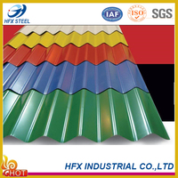 Building Material Color Coated Corrugated Metal Roofing Sheet with High Quality from China