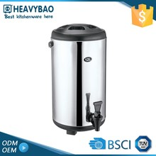 Heavybao Quality Guaranteed Stainless Steel Water Coffee Drink Bucket Dispenser