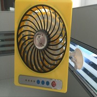 Protable Mobile Electric Stand Mini Ventilation Fan, Plastic Hand Cellphone Fan for Sale