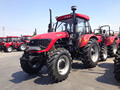 120hp tractor with loader and backhoe