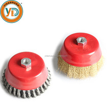 Stone Diamond Deburring Polishing Round Wire Brush