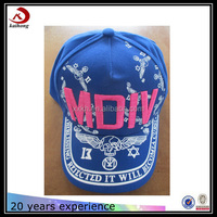 manufacture wholesale high quality new style personalized 3d embroidery cowboy summer baseball caps hats made in China