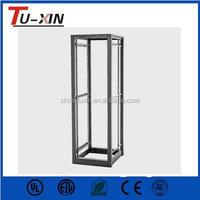 19 inch 4 post server rack frames