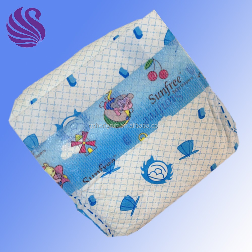 Quality cheap cute Sunfree disposable baby diaper in Nigeria
