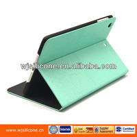 Standable laptop case wallet pu case for Ipad2 3 4 5