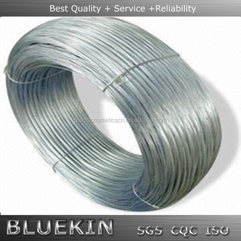 Flat spring low carbon steel wire 1006/1008/1010