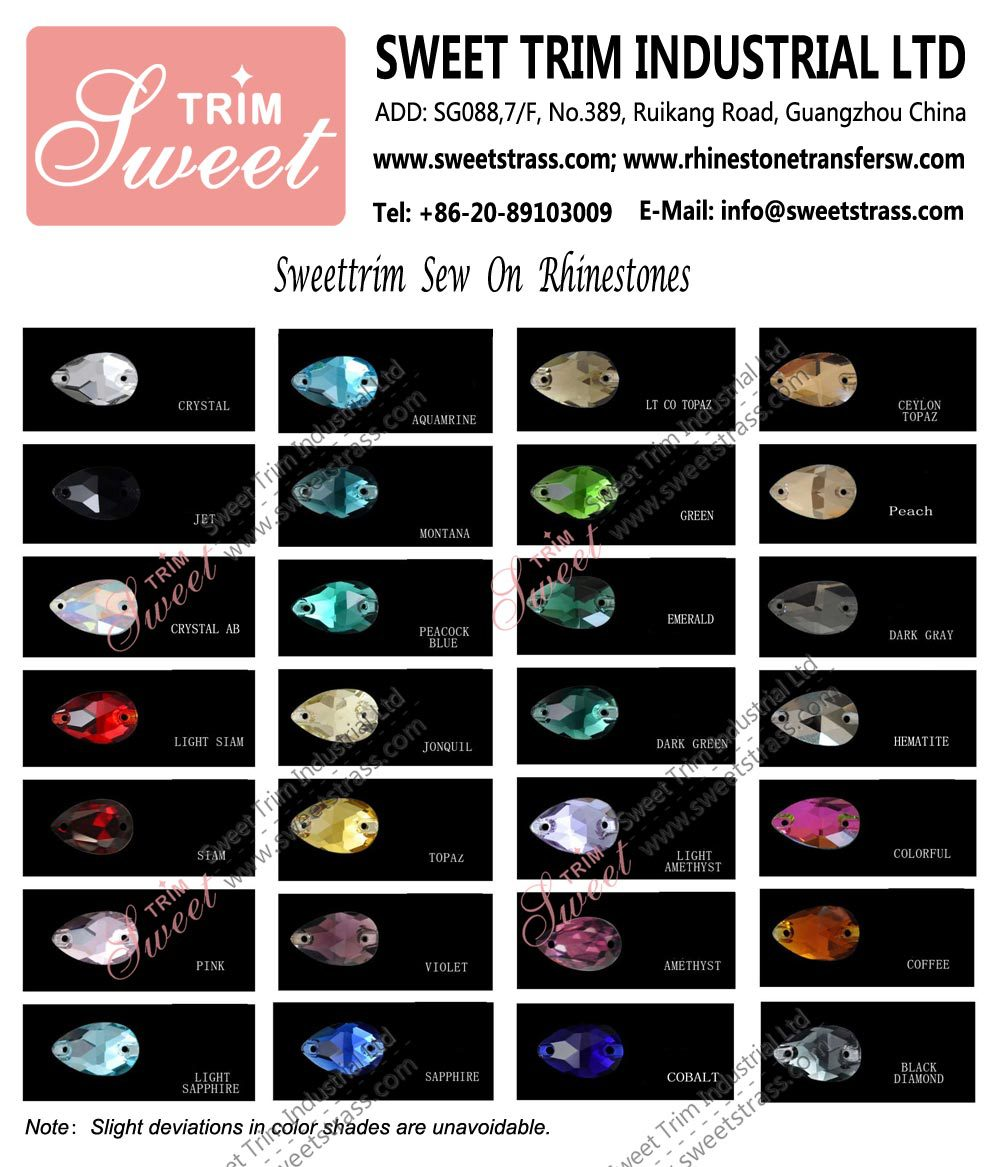 Factory wholesale crystals rhinestones prong setting
