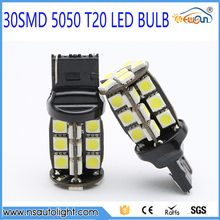 New Product 30smd 5050 T20 Auto Led Bulb Car Led Brake Lighting Bulb