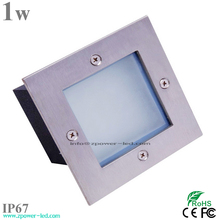 Emitting color 1w waterproof ip67 outdoor wall mounted light