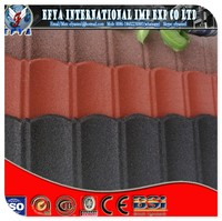 stone coated metal roof tile/stone chip steel roof tile/ aluminum roofing sheet for sale
