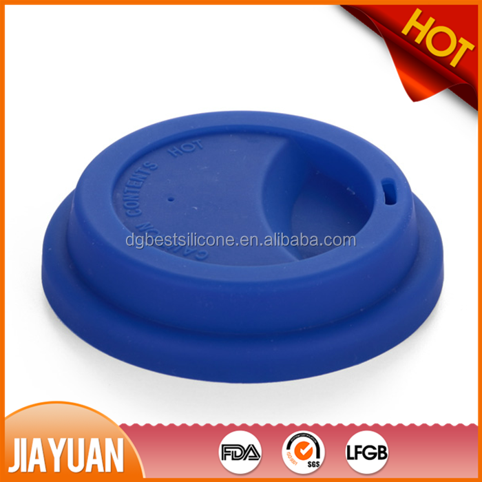 FDA standard silicone coffee cup cover lid