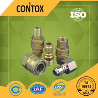 E120 Brass/ stain steel non-valve hydraulic coupling