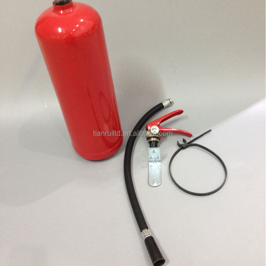 4Kg portable abc dry powder empty fire extinguisher cylinder with accessories /plus all parts