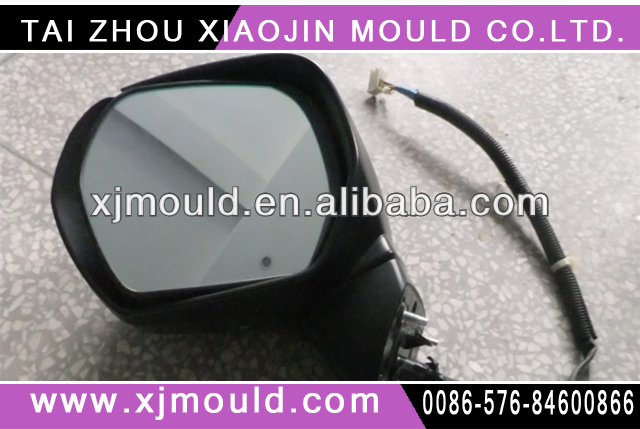 Cheap plastic injection auto rearview mirror mould