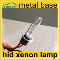 Top quality metal base hid xenon lamp h3 with 35w 6000k