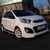 Body Kit Full Set(Front Lip+Rear Lip+Side Skirt) for 2011~ KIA PICANTO(Morning)