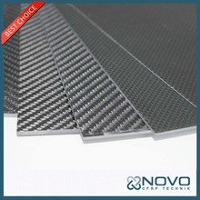 Excellent creep resistance carbon plate 3mm for sports equipment