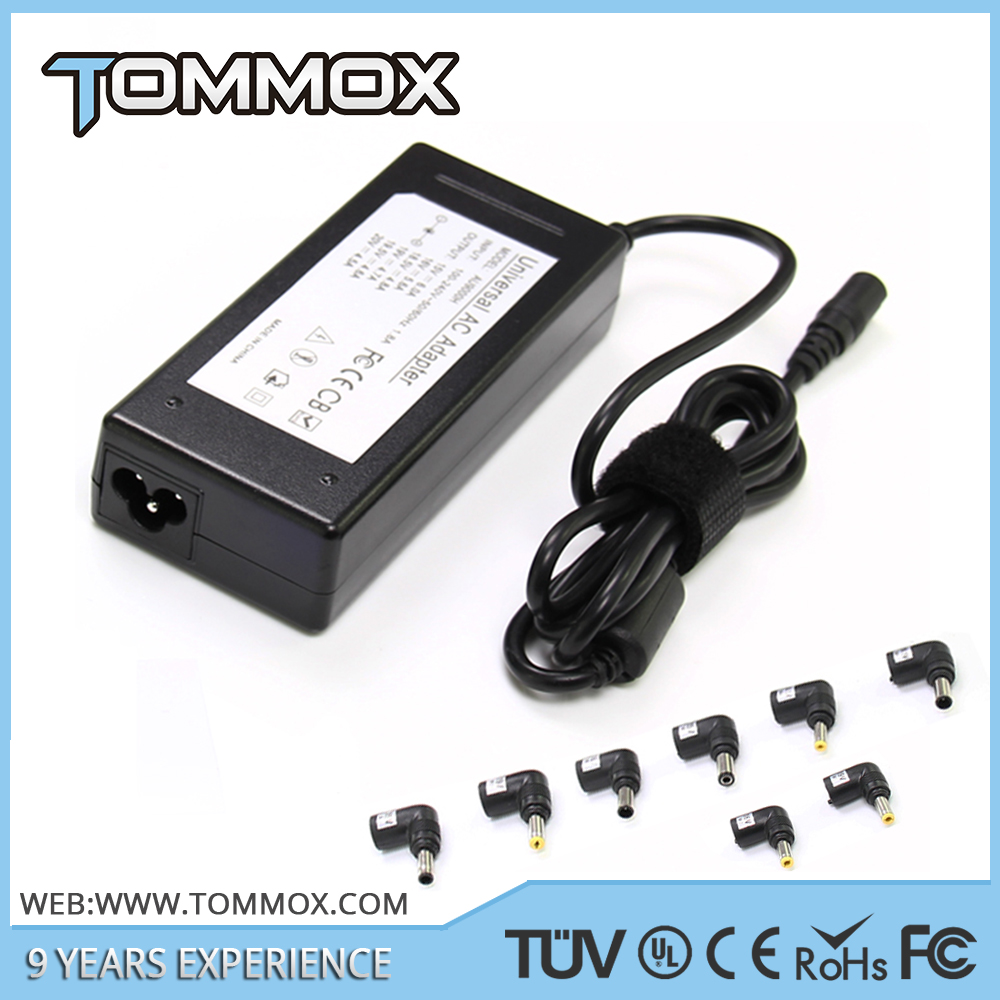 TUV CERTIFICATES approval universal laptop auto chargers for laptops 90W