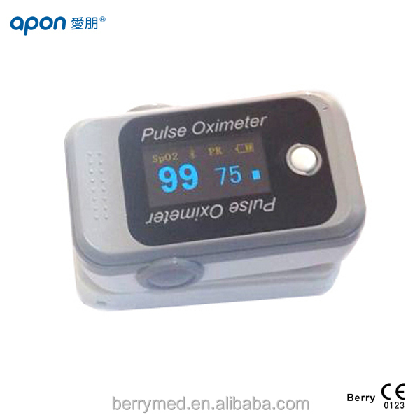 finger pulse oximeter oximetro spoz heart rate blood Oxygen wireless bluetooth gift package