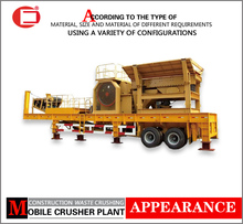 Flexible and Practical Construction Wastes Mobile Crushing Plant